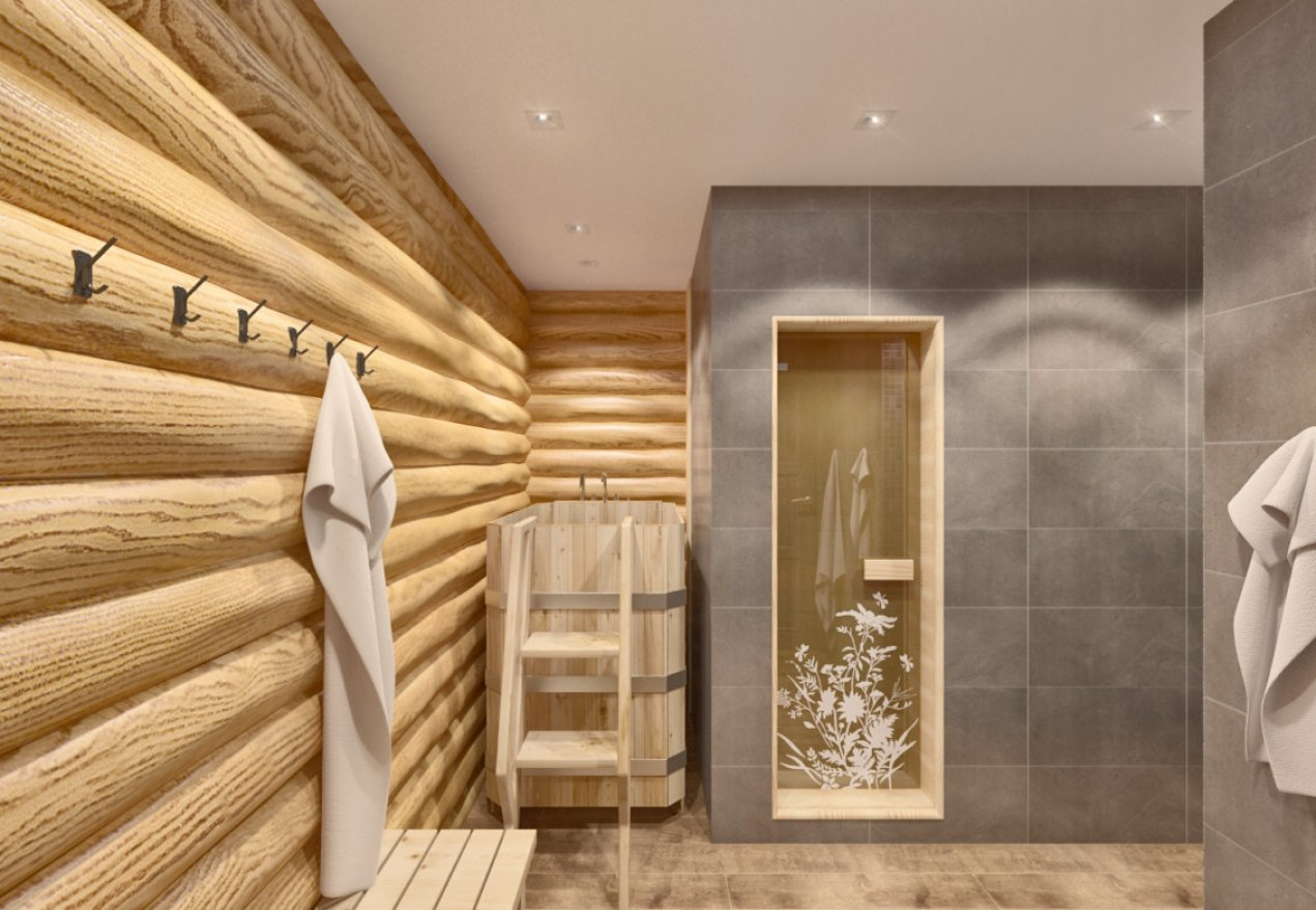 Фотография 3545  категории 'Баня 47 м²'