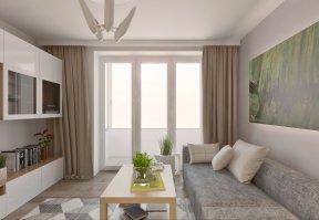 Фотография 3624  категории 'Квартира 55 м²'