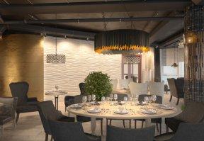 Фотография 4393  категории 'Ресторан 160 м²'
