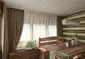 Фотография 3556  категории 'Баня 47 м²'