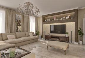 Фотография 3659  категории 'Частный дом 211 м²'