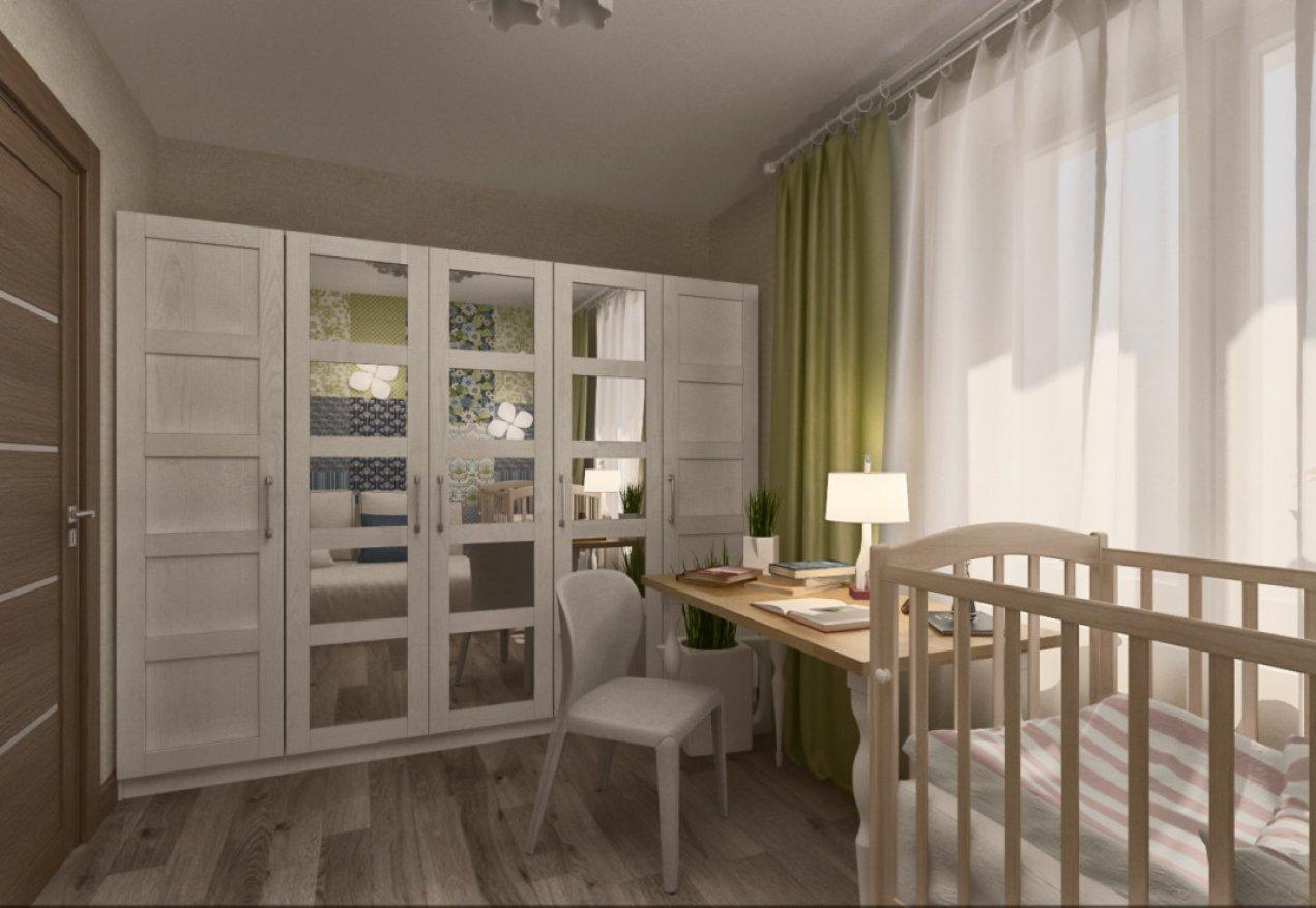 Фотография 3617  категории 'Квартира 55 м²'