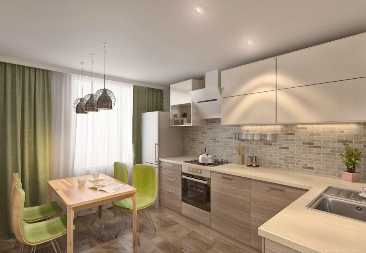 Фотография 3622  категории 'Квартира 55 м²'
