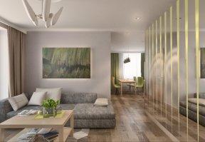 Фотография 3623  категории 'Квартира 55 м²'