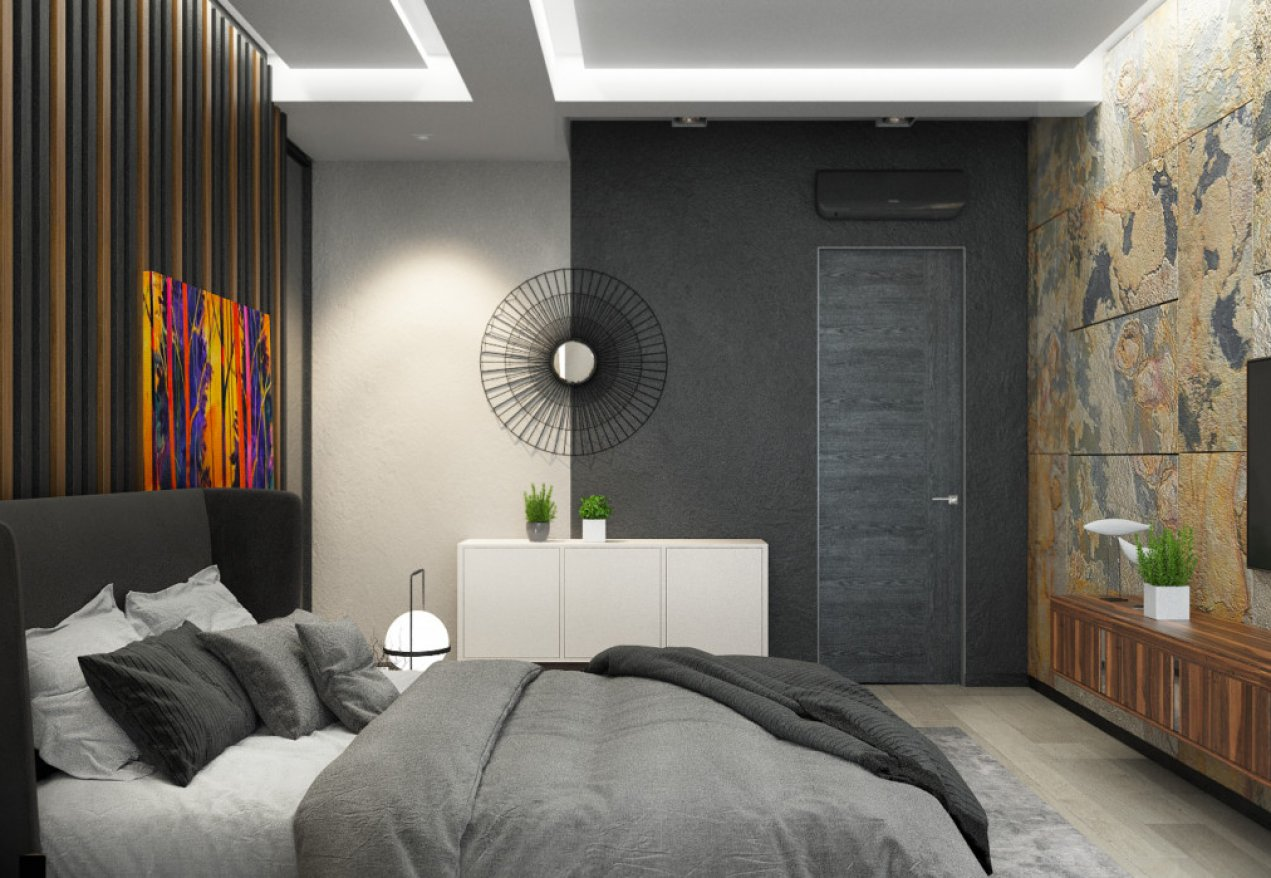 Фотография 10119  категории 'Трёхкомнатная квартира в Н. Новгороде 130 м²'