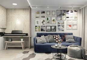 Фотография 10038  категории 'Трёхкомнатная квартира 78 м²'