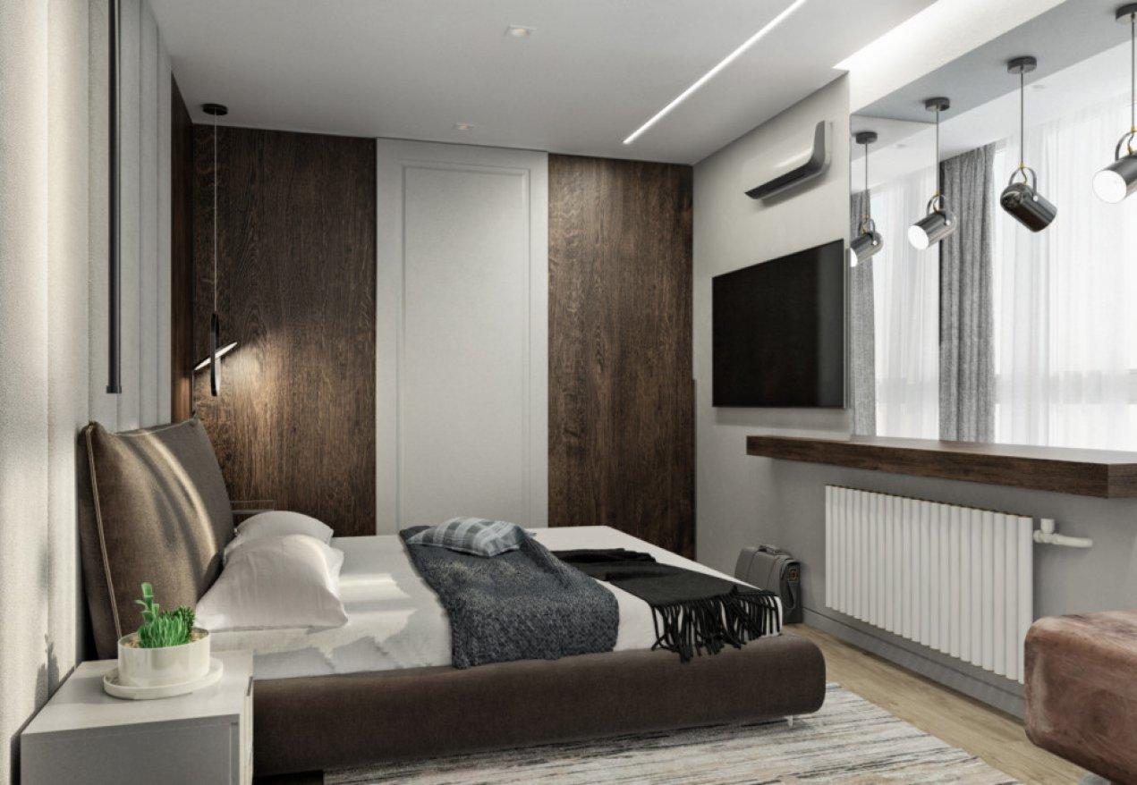 Фотография 10081  категории 'Трёхкомнатная квартира в Н. Новгороде 80 м²'