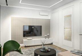 Фотография 10066  категории 'Трёхкомнатная квартира в Н. Новгороде 80 м²'