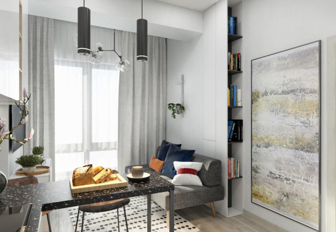 Фотография 9910  категории 'Однокомнатная квартира в Москве 42 м²'