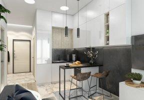 Фотография 9909  категории 'Однокомнатная квартира в Москве 42 м²'