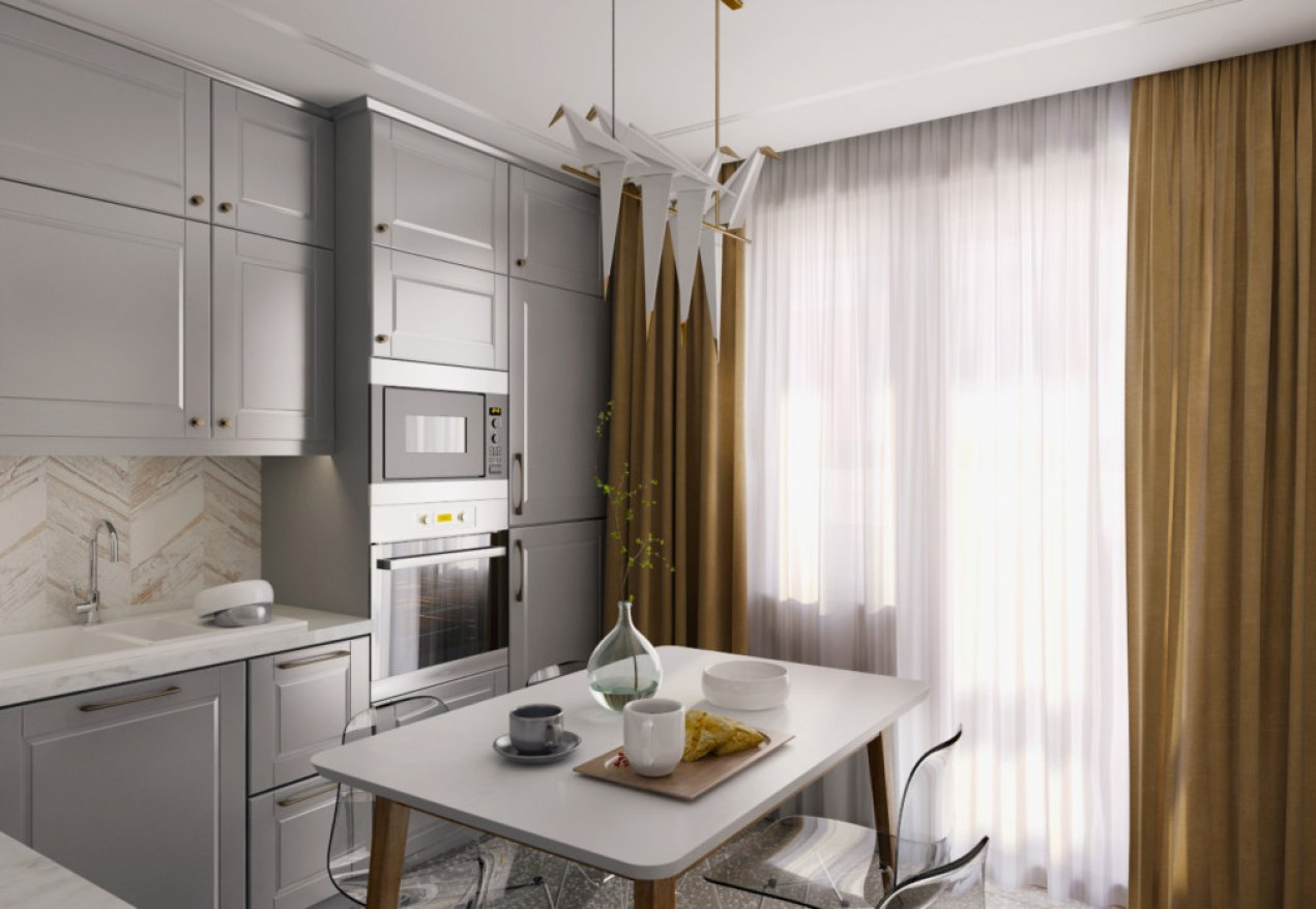 Фотография 8895  категории 'Квартира в ЖК «Аквамарин»'