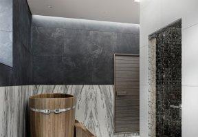 Фотография 10158  категории 'Двухэтажная баня в посёлке Бурцево 134 м²'