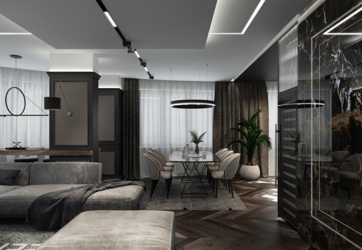 Фотография 10170  категории 'Четырёхкомнатная квартира в Н.Новгороде 166 м²'