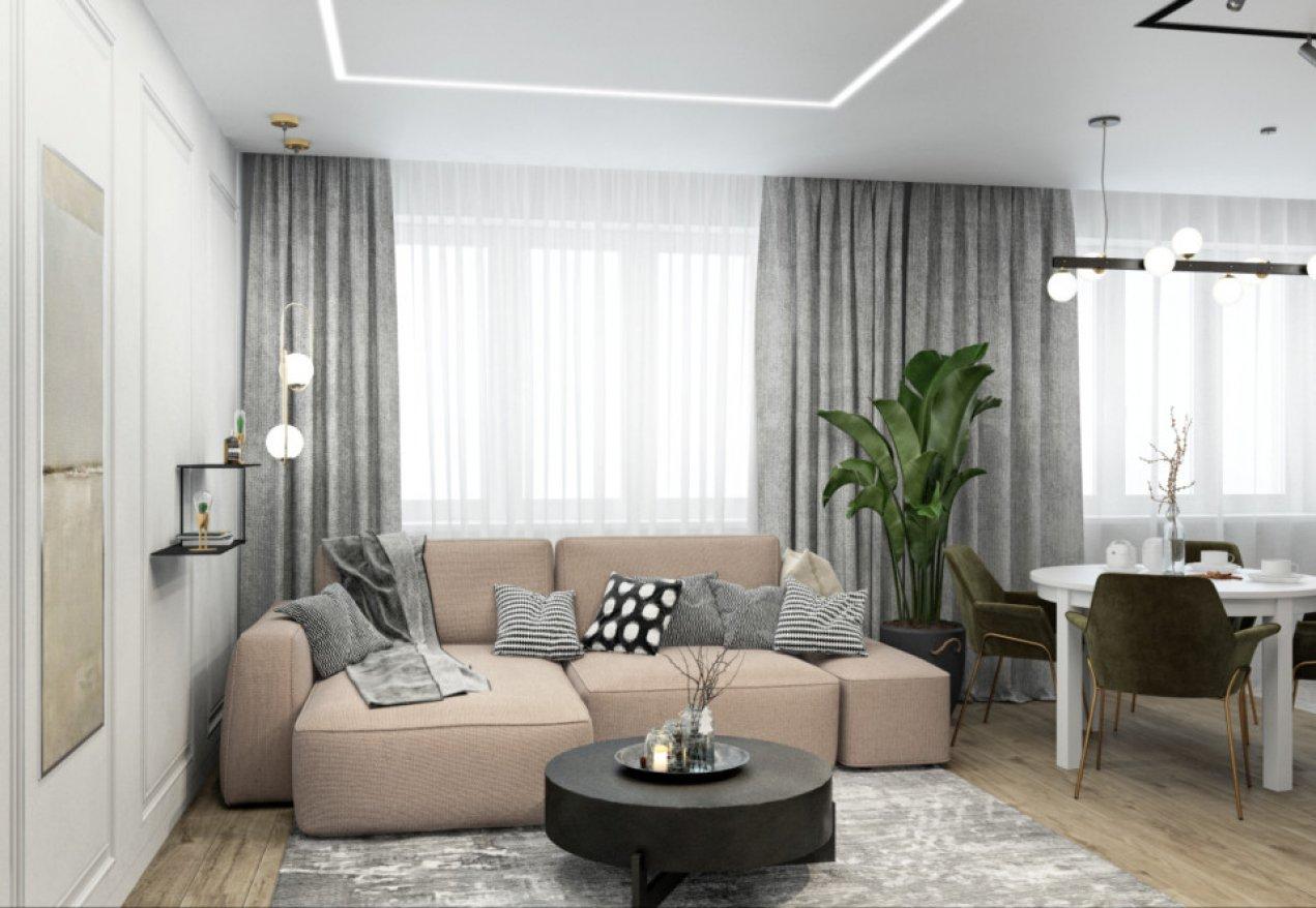 Фотография 10061  категории 'Трёхкомнатная квартира в Н. Новгороде 80 м²'