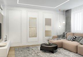 Фотография 10060  категории 'Трёхкомнатная квартира в Н. Новгороде 80 м²'