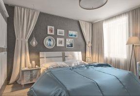 Фотография 3613  категории 'Квартира 55 м²'