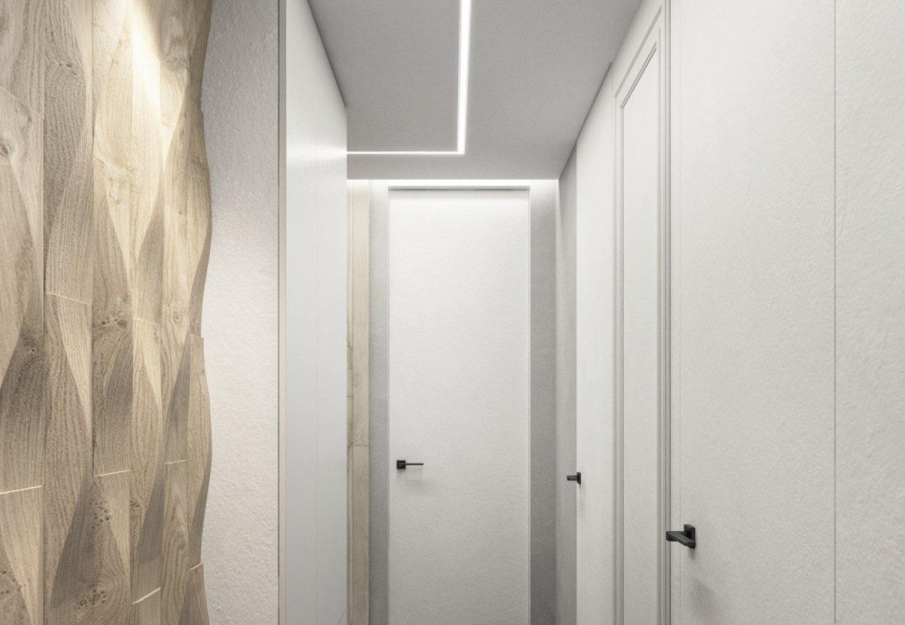 Фотография 10077  категории 'Трёхкомнатная квартира в Н. Новгороде 80 м²'