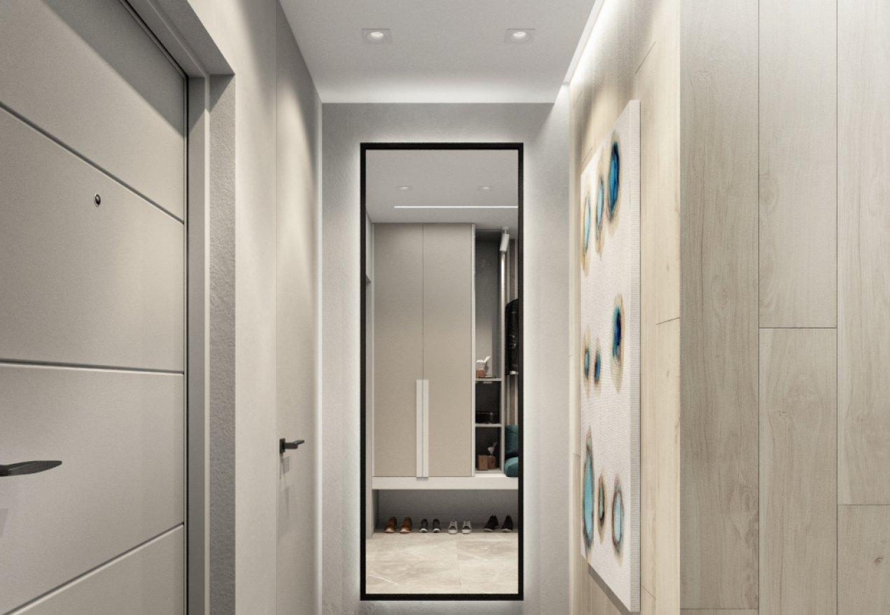 Фотография 10079  категории 'Трёхкомнатная квартира в Н. Новгороде 80 м²'
