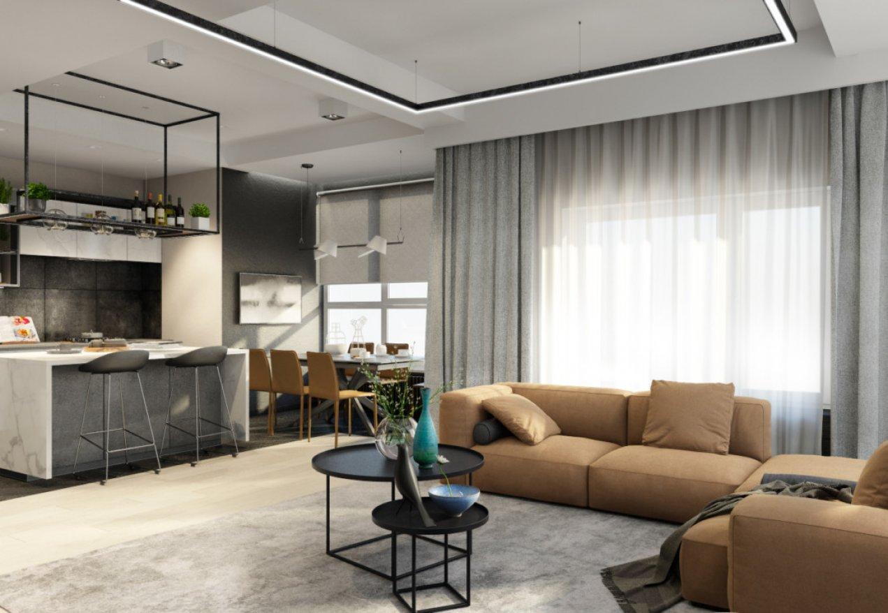 Фотография 10099  категории 'Трёхкомнатная квартира в Н. Новгороде 130 м²'