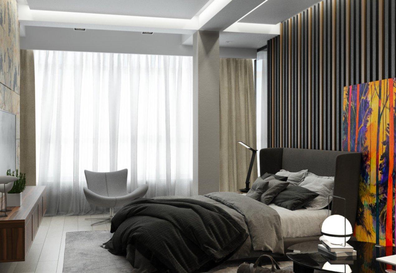 Фотография 10116  категории 'Трёхкомнатная квартира в Н. Новгороде 130 м²'