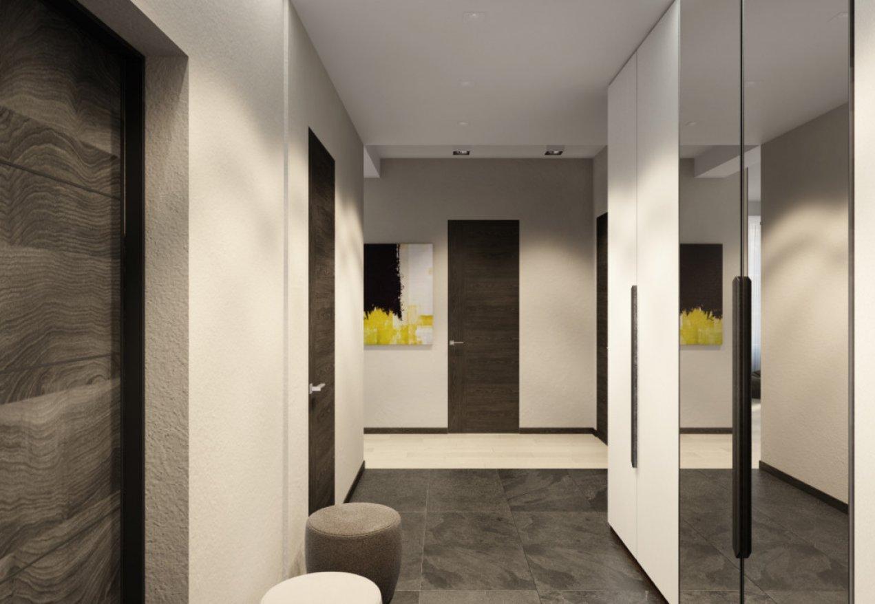 Фотография 10107  категории 'Трёхкомнатная квартира в Н. Новгороде 130 м²'