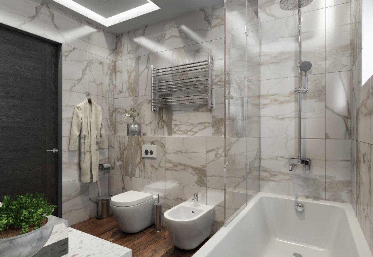 Фотография 10125  категории 'Трёхкомнатная квартира в Н. Новгороде 130 м²'