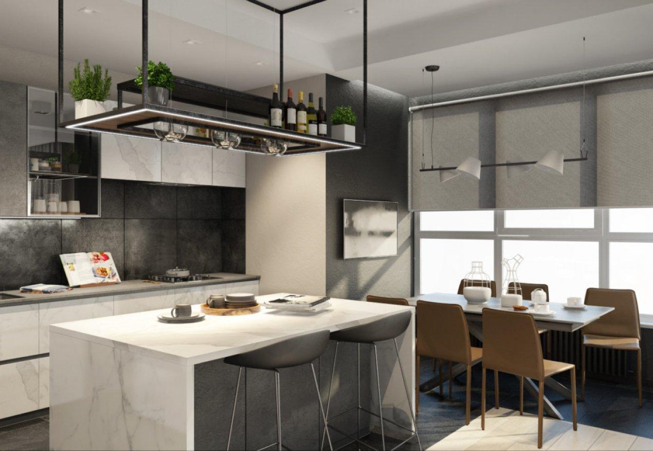 Фотография 10102  категории 'Трёхкомнатная квартира в Н. Новгороде 130 м²'