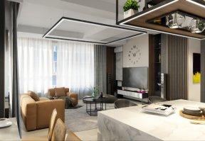 Фотография 10100  категории 'Трёхкомнатная квартира в Н. Новгороде 130 м²'