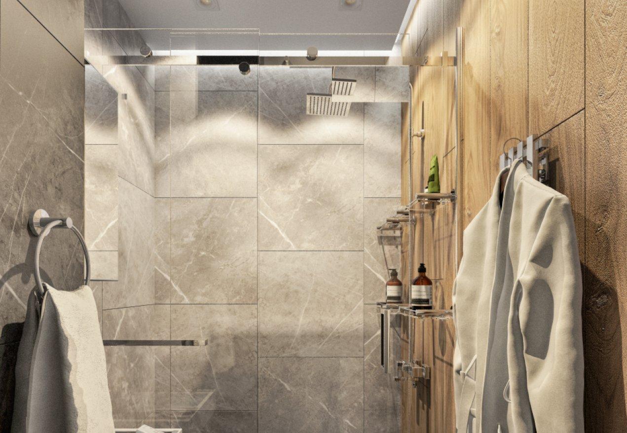 Фотография 10088  категории 'Трёхкомнатная квартира в Н. Новгороде 80 м²'