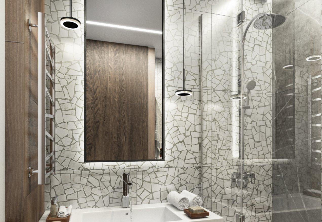 Фотография 10092  категории 'Трёхкомнатная квартира в Н. Новгороде 80 м²'