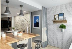 Фотография 10044  категории 'Трёхкомнатная квартира 78 м²'