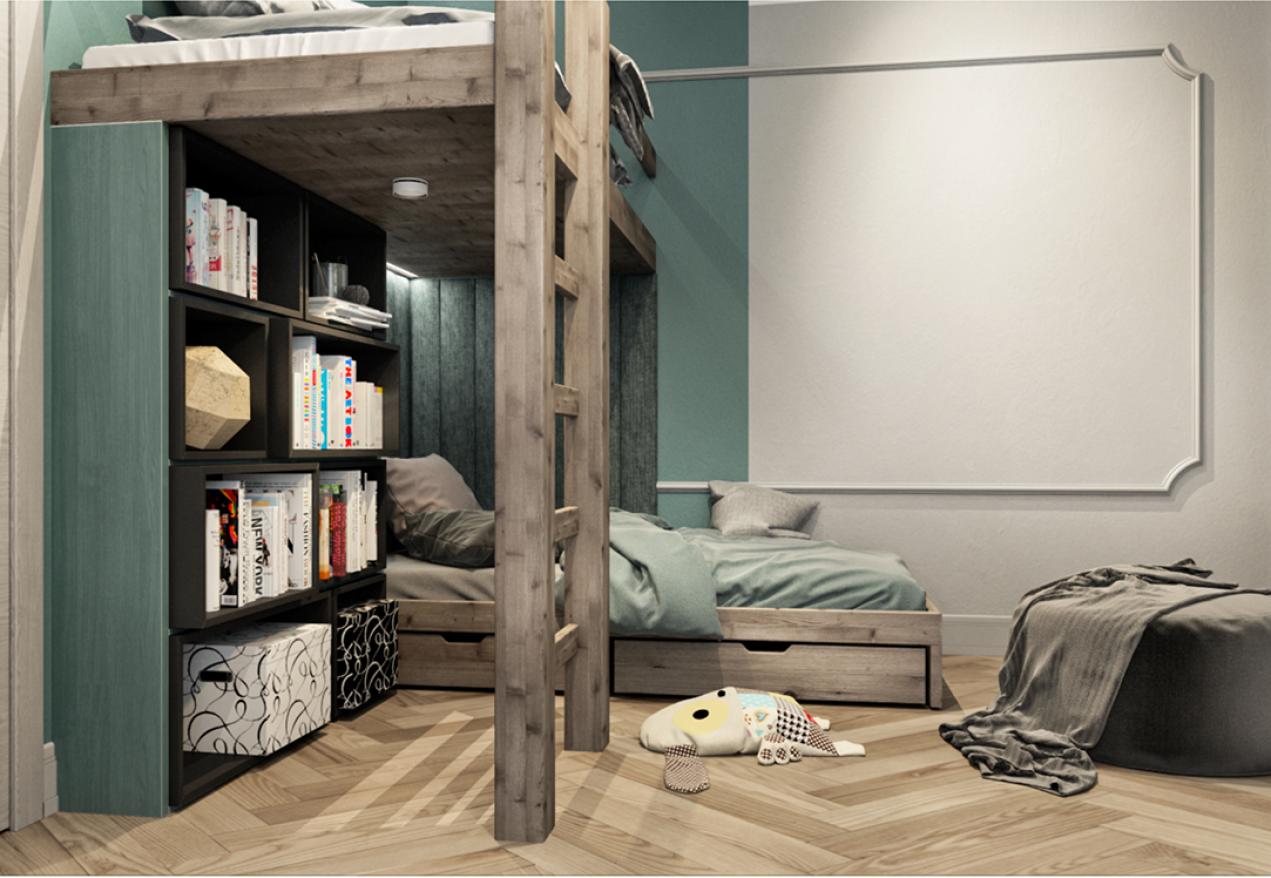 Фотография 9964  категории 'Частный дом в п. Бол. Давыдово 128 м²'