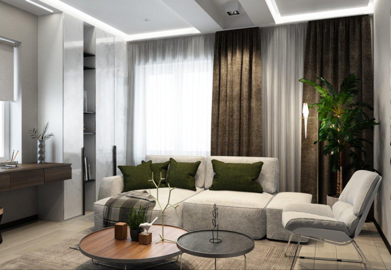Фотография 10110  категории 'Трёхкомнатная квартира в Н. Новгороде 130 м²'