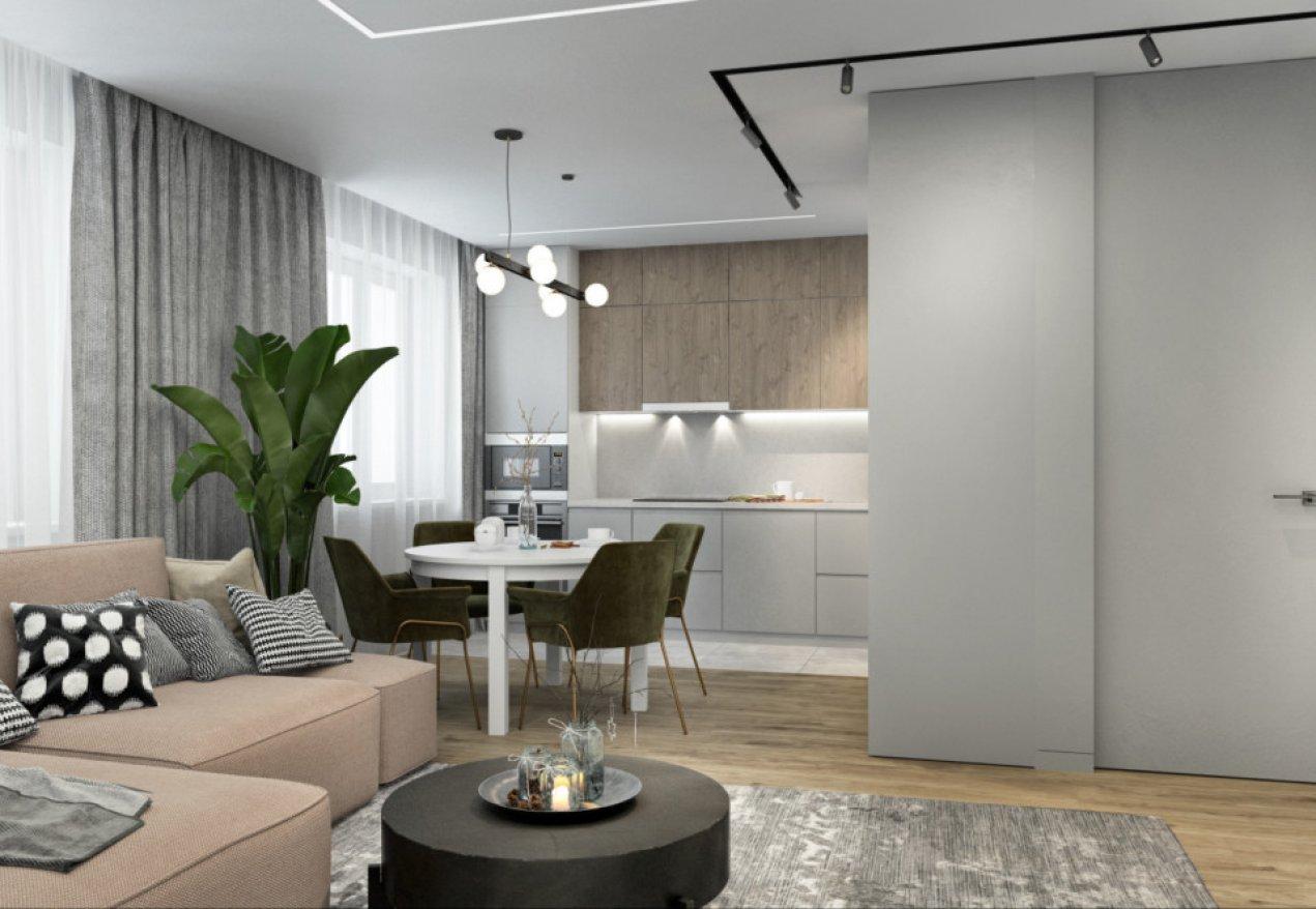 Фотография 10062  категории 'Трёхкомнатная квартира в Н. Новгороде 80 м²'