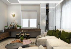Фотография 10114  категории 'Трёхкомнатная квартира в Н. Новгороде 130 м²'