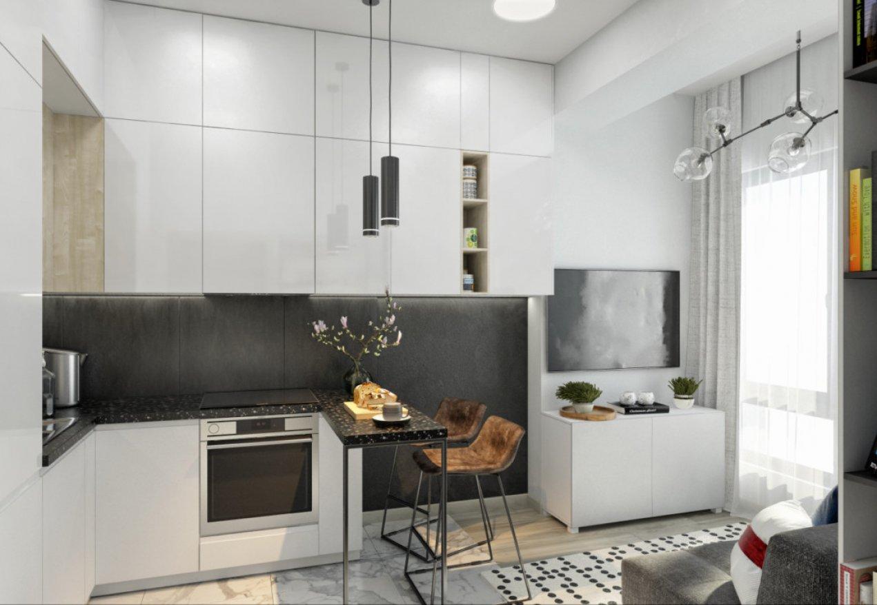 Фотография 9908  категории 'Однокомнатная квартира в Москве 42 м²'