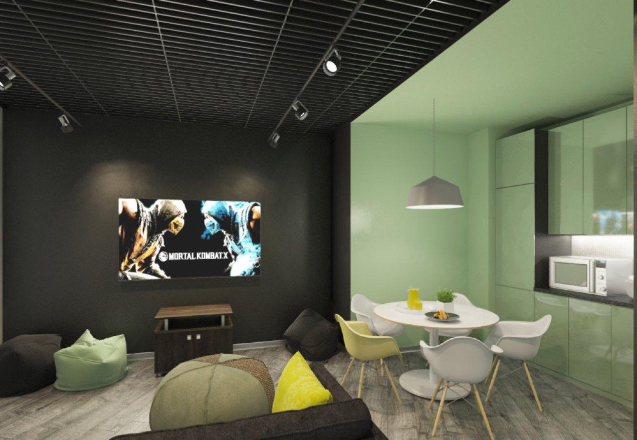 Фотография 9988  категории 'Офис для Интернет компании в Н.Новгороде 150 м²'
