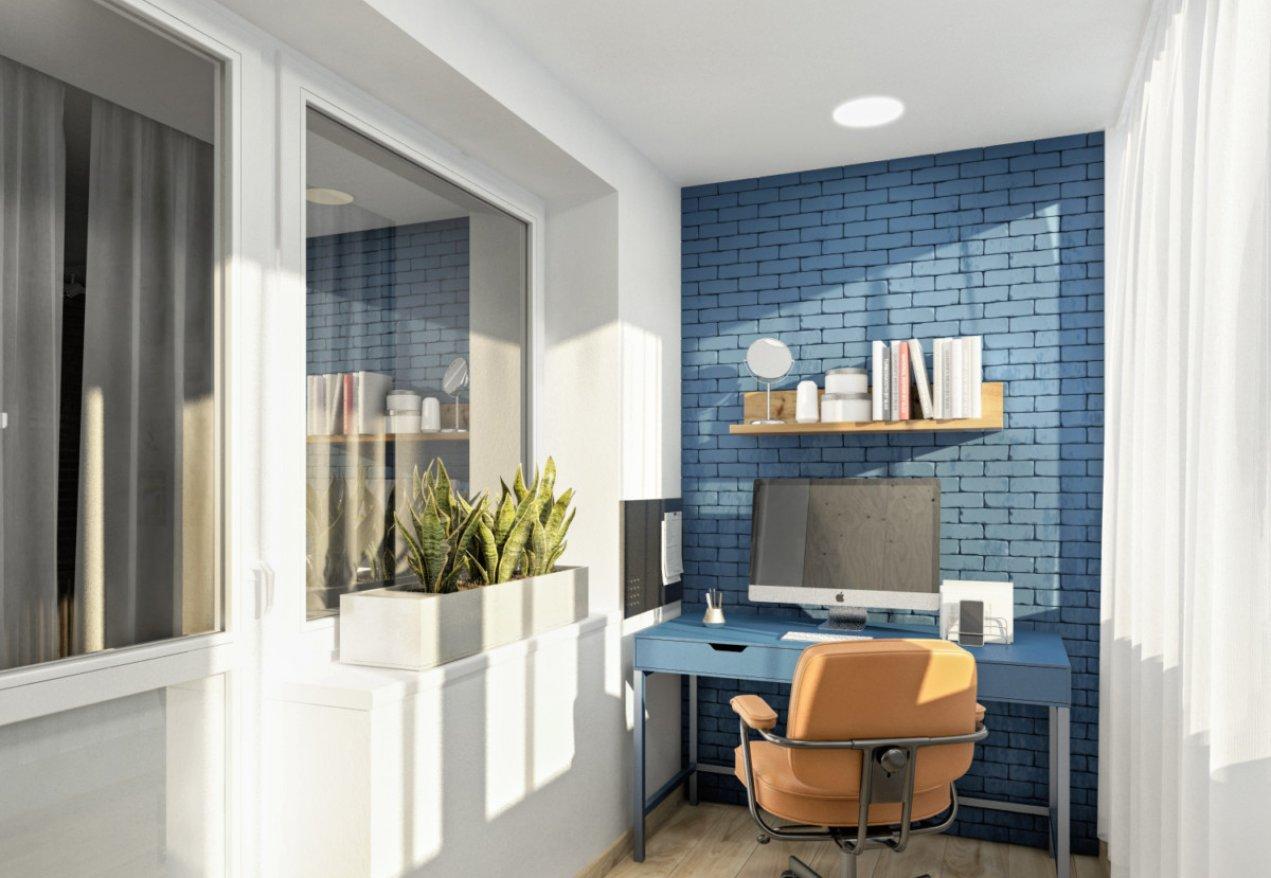 Фотография 10050  категории 'Трёхкомнатная квартира 78 м²'