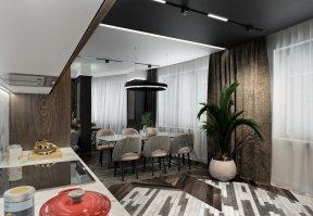 Фотография 10178  категории 'Четырёхкомнатная квартира в Н.Новгороде 166 м²'