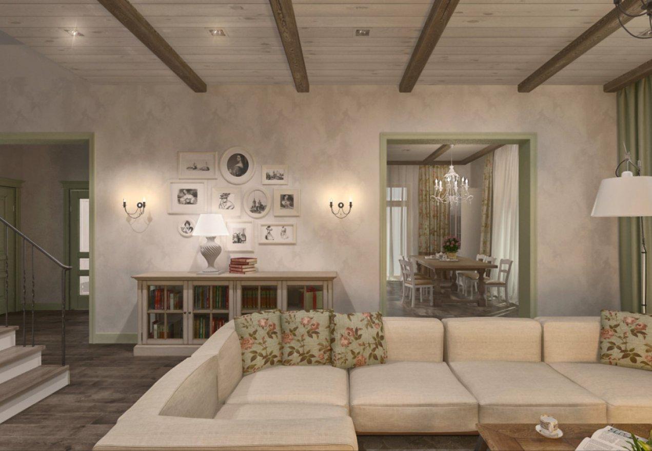 Фотография 3562  категории 'Загородный дом 213 м²'