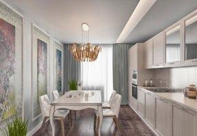 Фотография 3473  категории 'Квартира 68 м²'