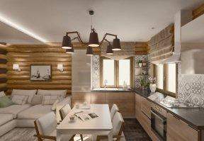 Фотография 3550  категории 'Баня 47 м²'