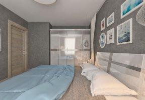 Фотография 3611  категории 'Квартира 55 м²'