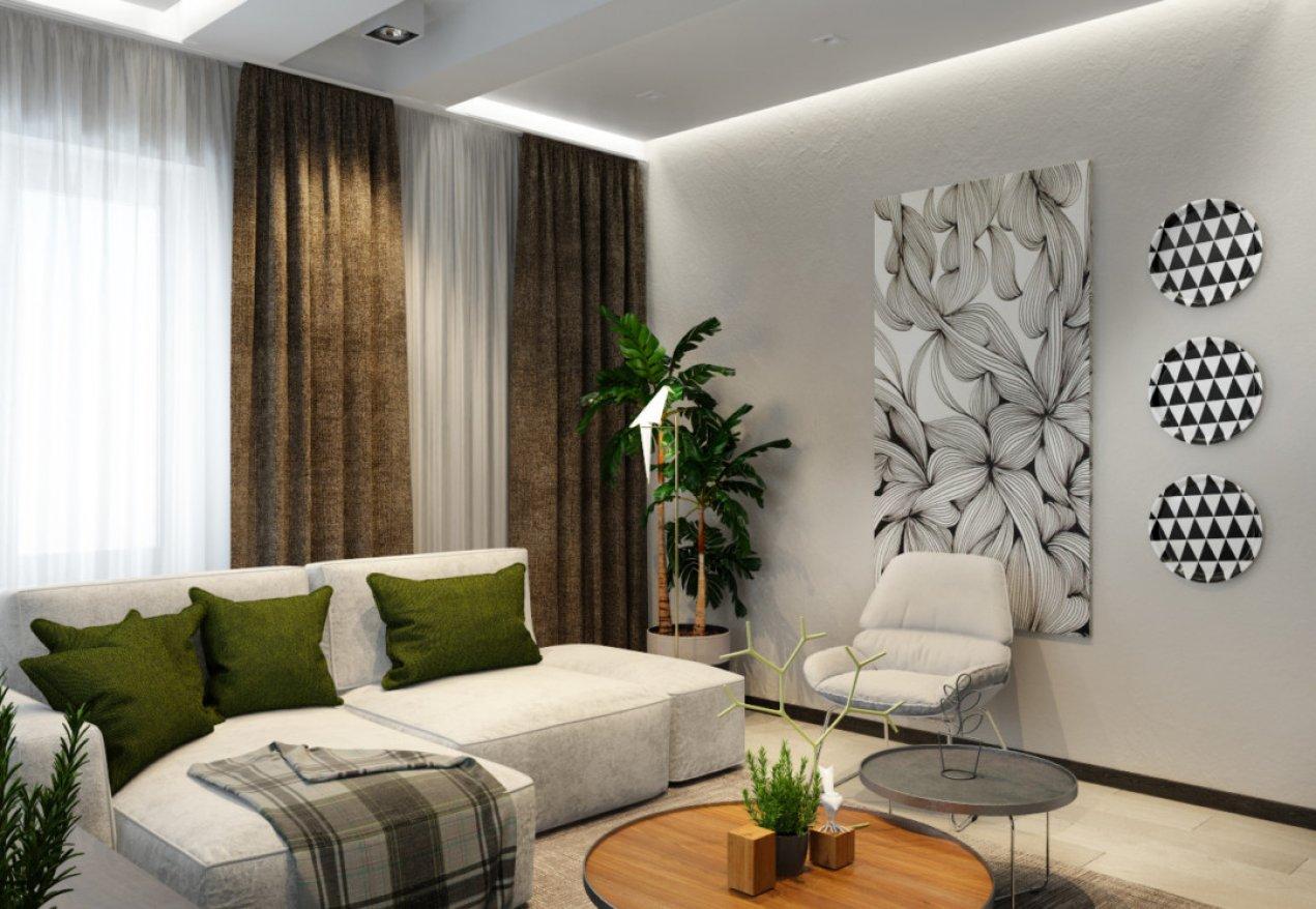 Фотография 10111  категории 'Трёхкомнатная квартира в Н. Новгороде 130 м²'