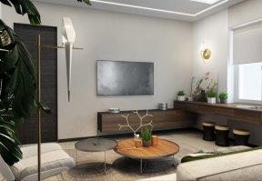 Фотография 10112  категории 'Трёхкомнатная квартира в Н. Новгороде 130 м²'