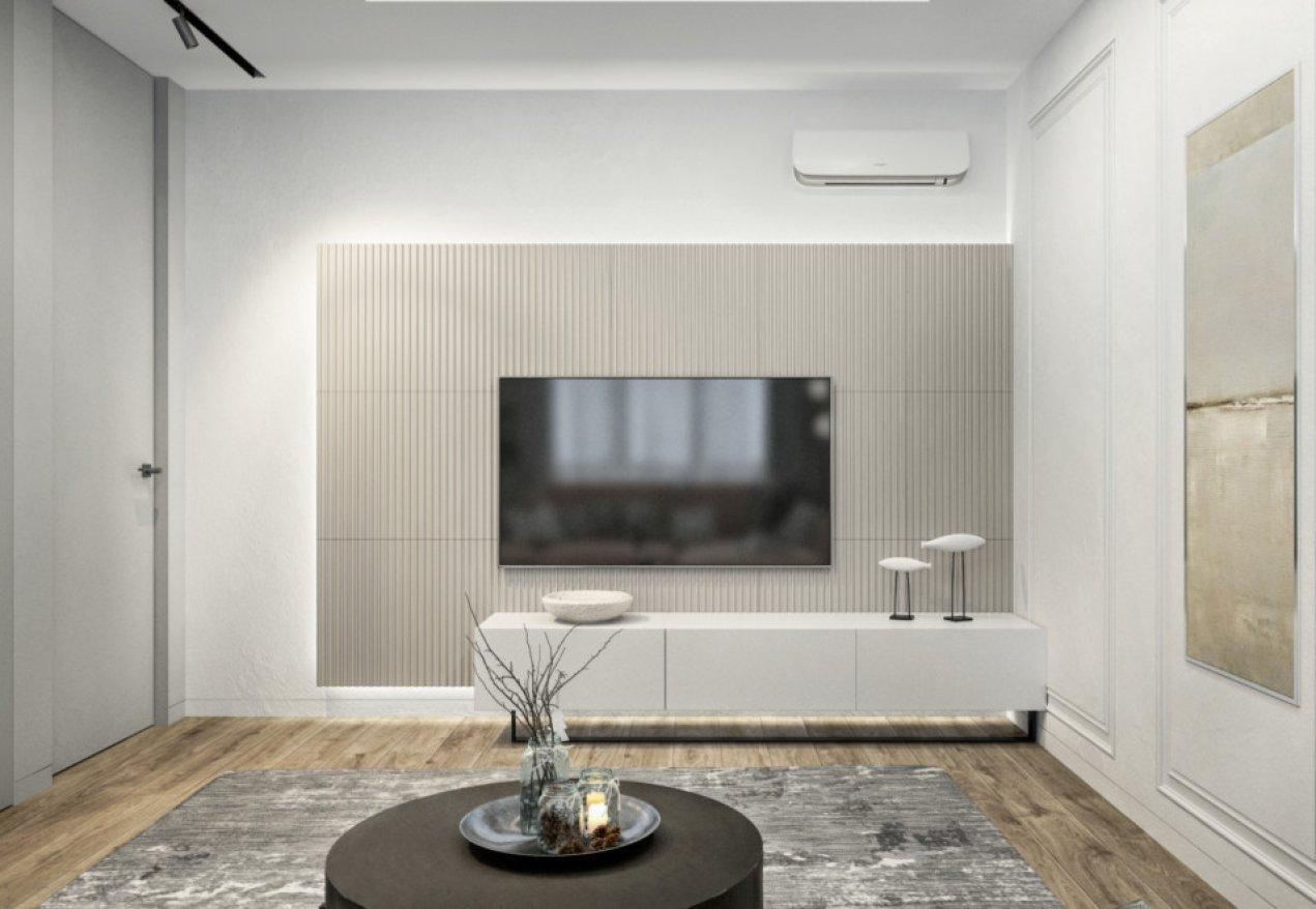 Фотография 10067  категории 'Трёхкомнатная квартира в Н. Новгороде 80 м²'