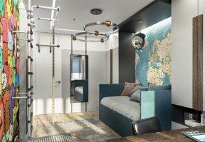 Фотография 10071  категории 'Трёхкомнатная квартира в Н. Новгороде 80 м²'