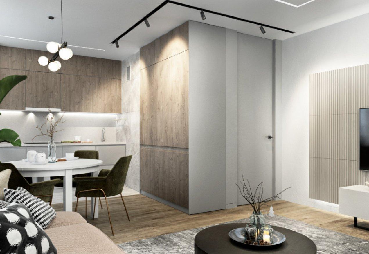 Фотография 10063  категории 'Трёхкомнатная квартира в Н. Новгороде 80 м²'