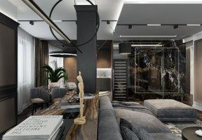 Фотография 10174  категории 'Четырёхкомнатная квартира в Н.Новгороде 166 м²'