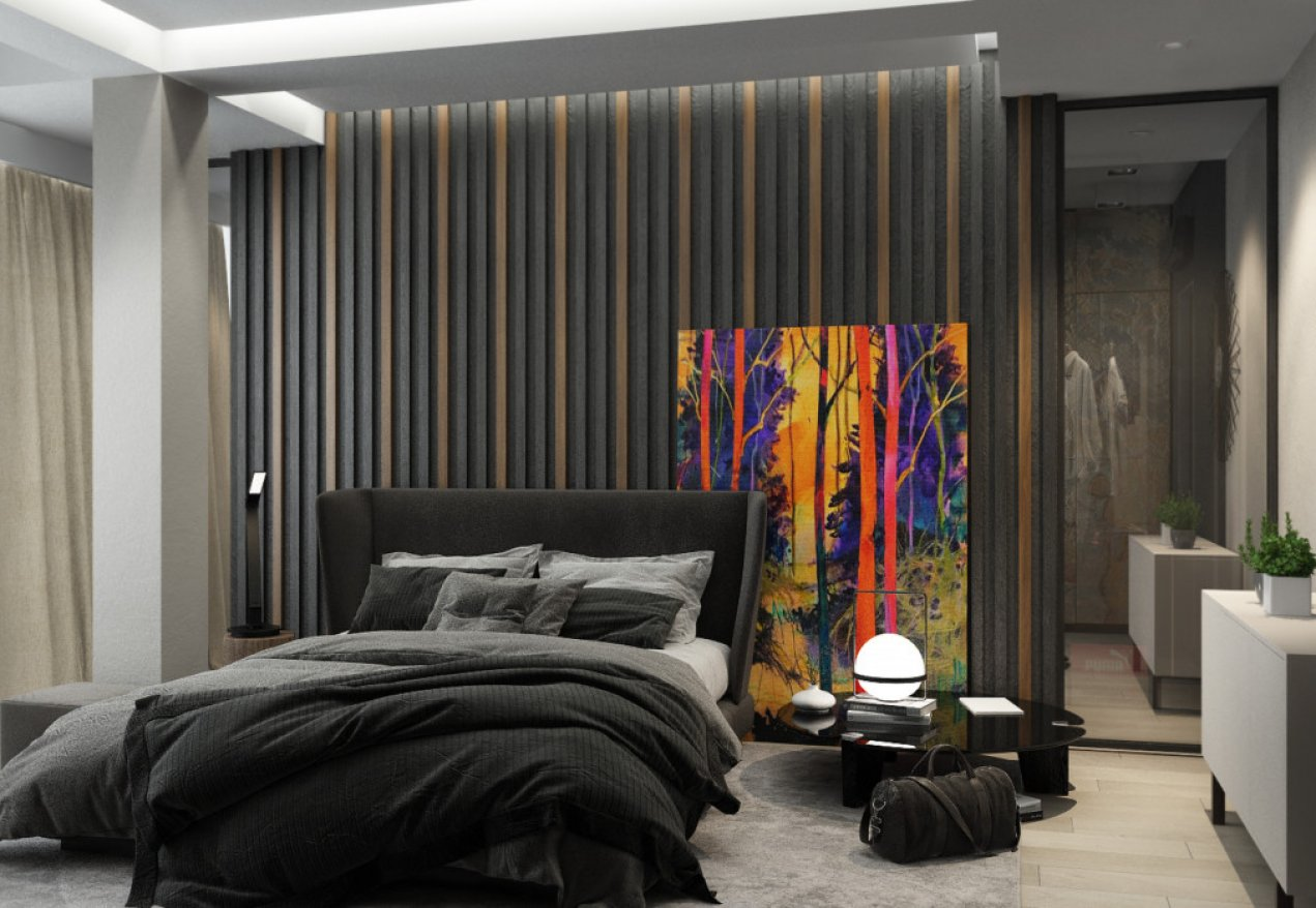 Фотография 10118  категории 'Трёхкомнатная квартира в Н. Новгороде 130 м²'